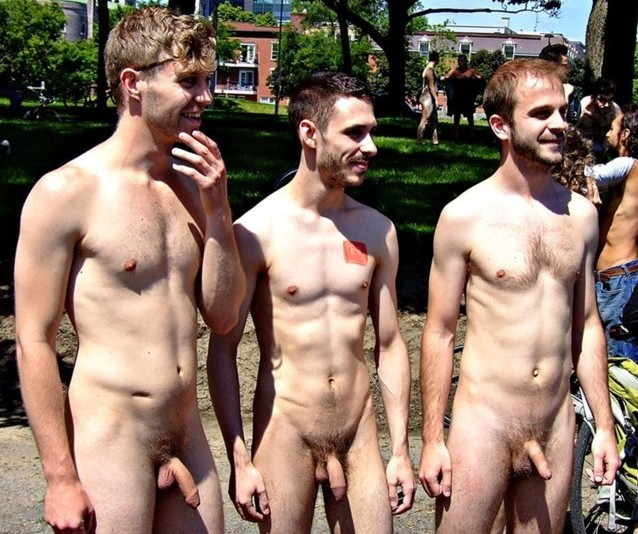 Naked men on cam