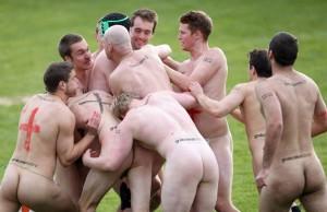amateur England-v-New-Zealand-Naked-Rugby-Match