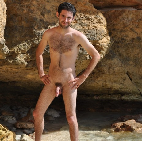 nudist hairy guy