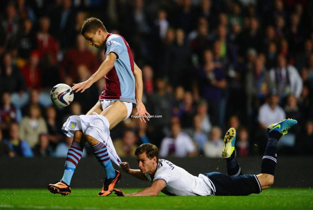 ruggerbugger footballer Nicklas Helenius shorts pulled down_003