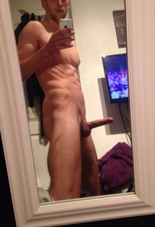 ex bf naked selfie guy hardon