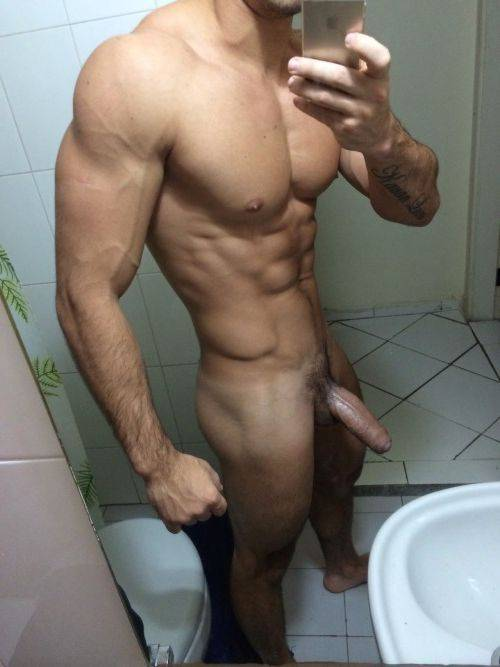 ex bf sexy muscled stud naked