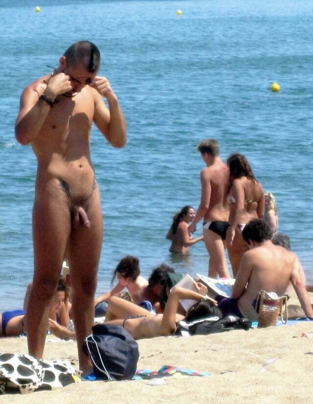 large penis nude beach