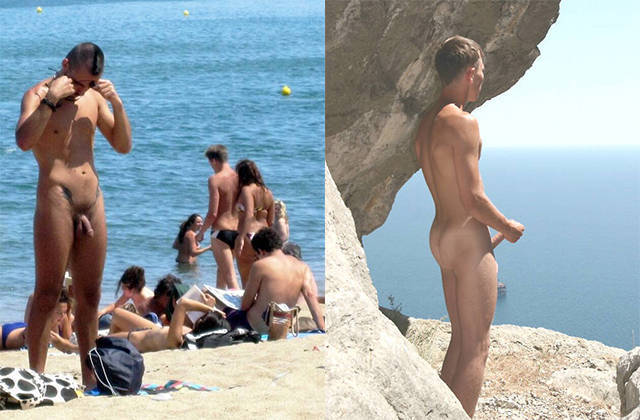 hidden cam nudist men hardon beach