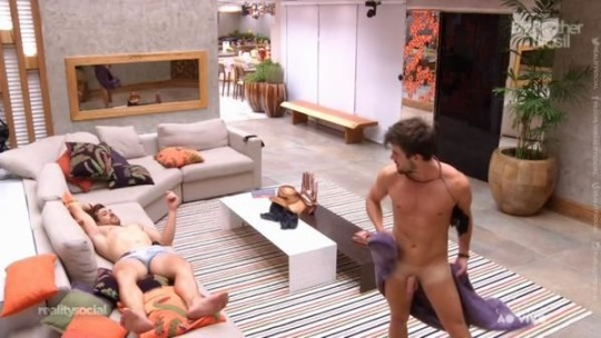 rafael big brother shows cock