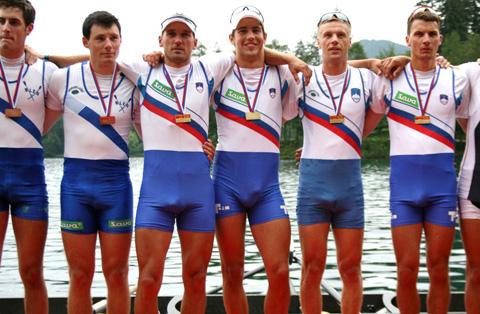 rowers big bulge