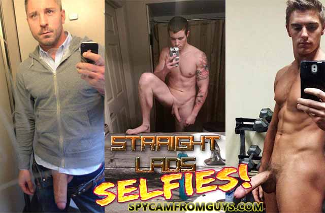 straight guys naked selfies