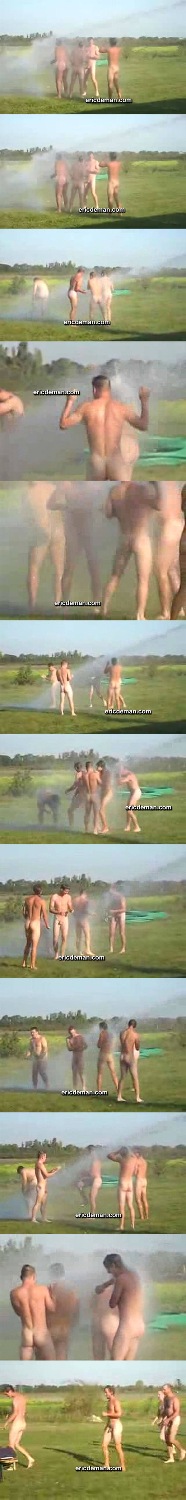 amateur naked firemen outdoor