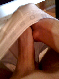 Hung Thick Dick Big Balls Guy Jerking On Cam