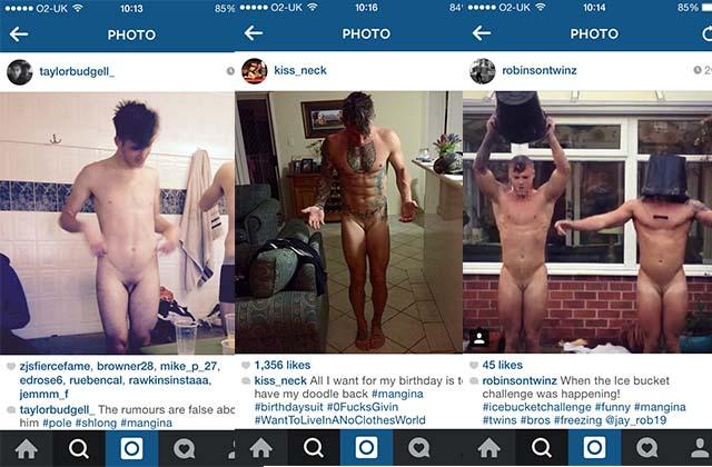 mangina naked straight guys