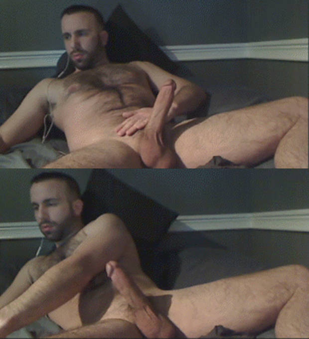 from Felipe gay caught wanking on web cam