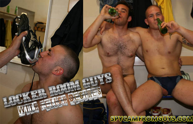 candid locker room guys going wild