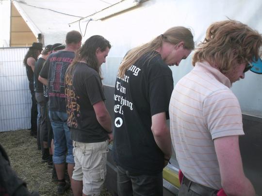 guys at urinals
