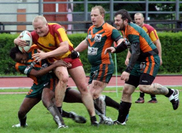 sport rugby player accidental exposure
