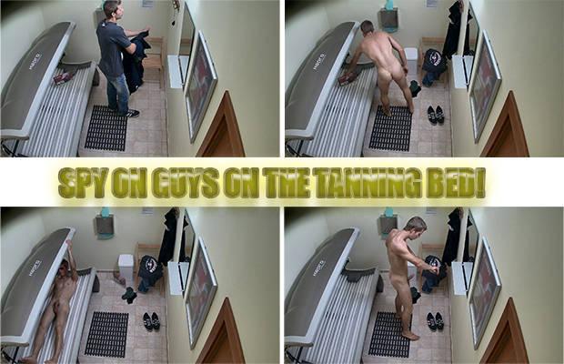 spy cam tanning naked solarium