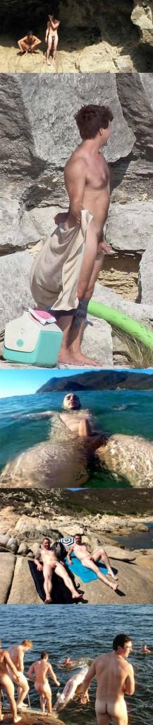 spycam nudist guys dick out outdoor