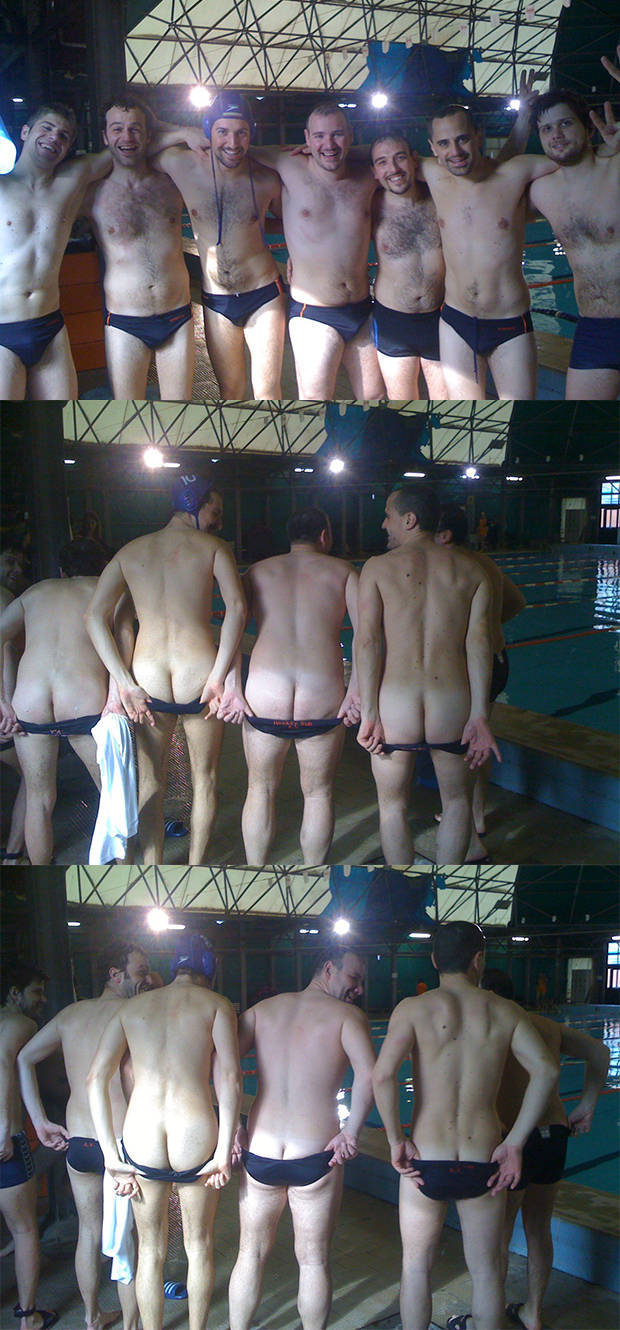 swimmers asses exposed