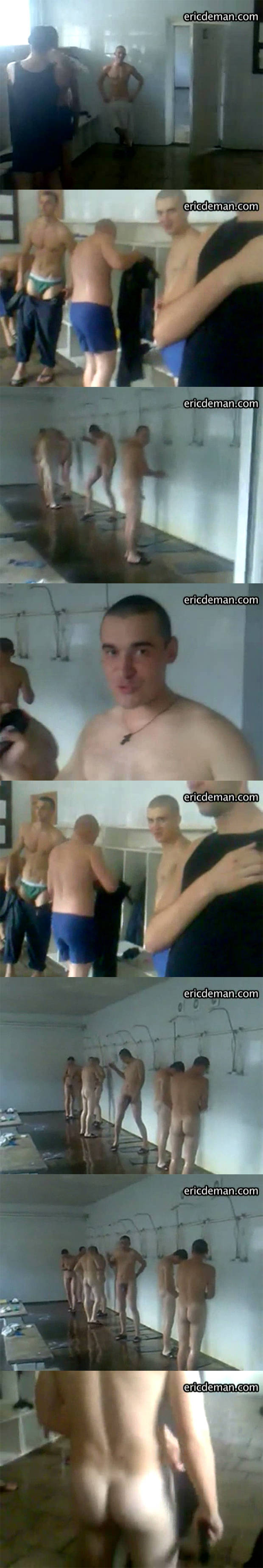 army guys naked locker room