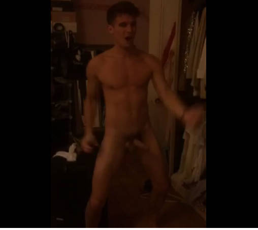 gaz dick out naked