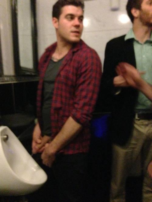 hung guy urinal
