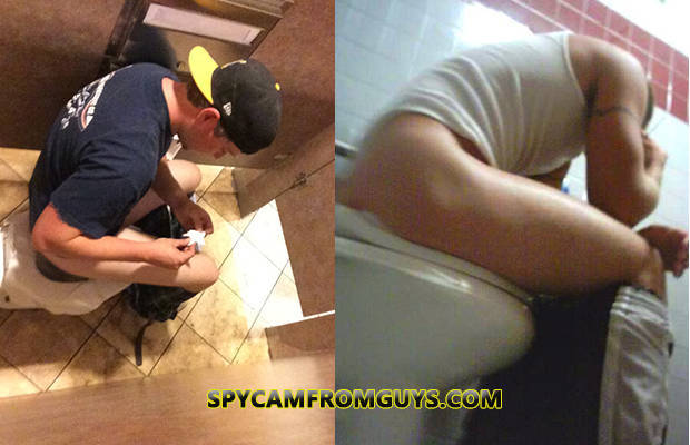 spycam guys caught in toilet