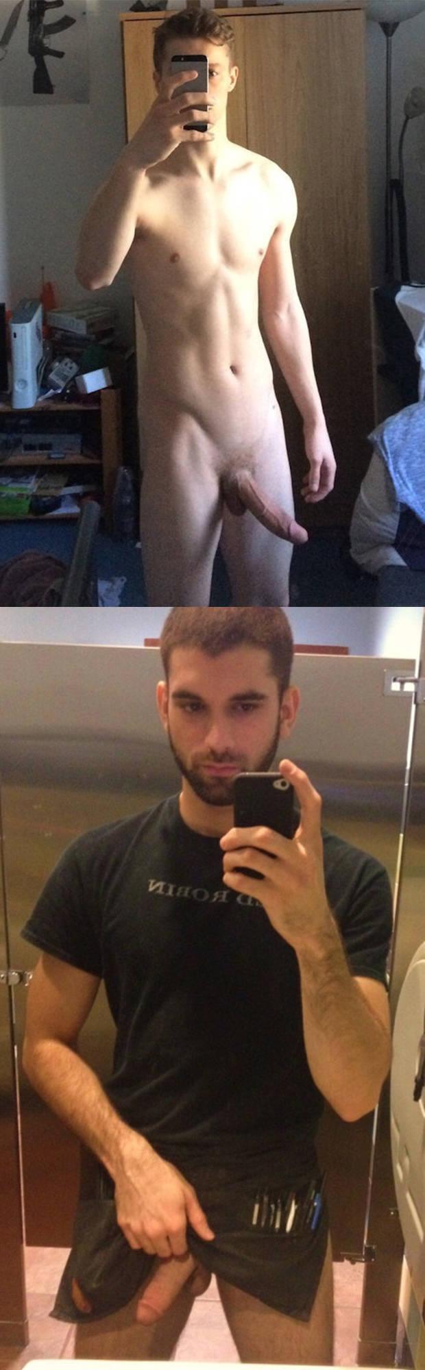 big dick selfie