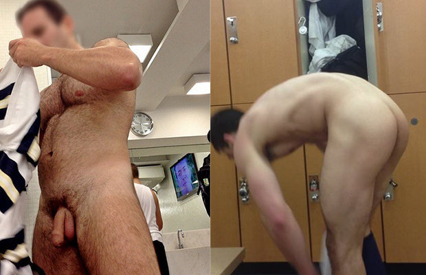 naked locker room guys
