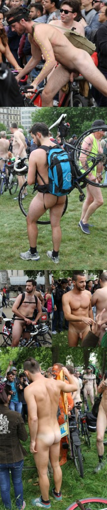 naked guys outdoor cyclist