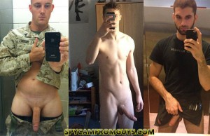 naked straight guys selfies