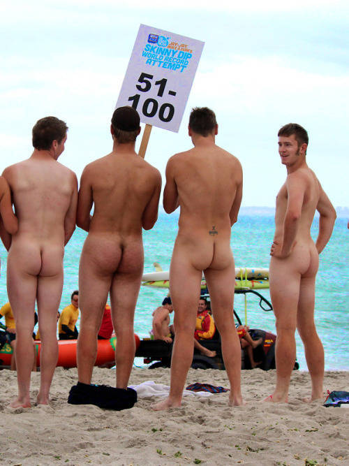 Nude Guys On The Beach