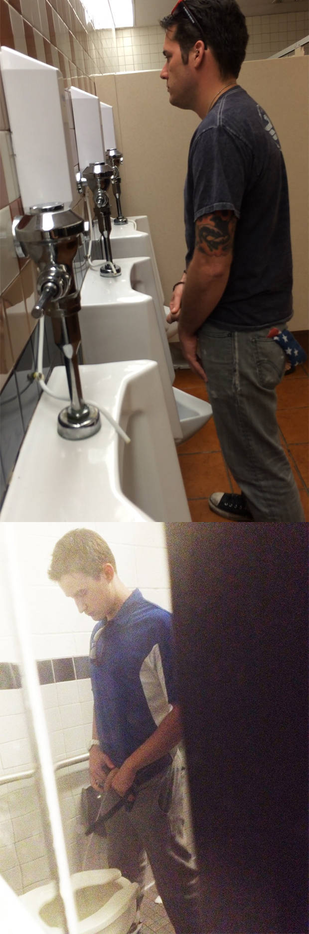 spycam male urinal
