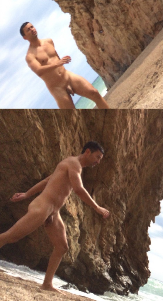 big dick nudist guy