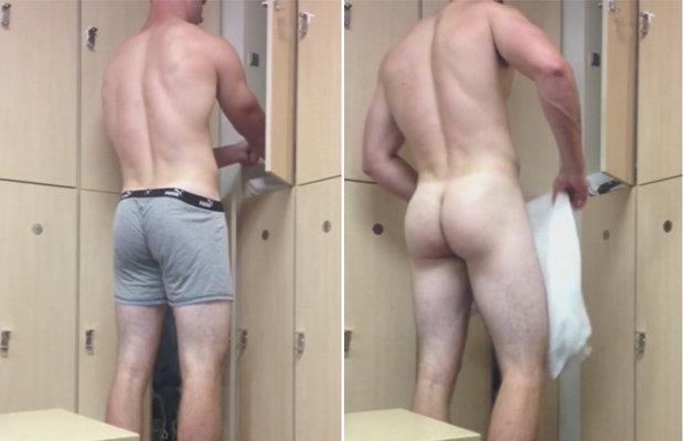 guy ass lockerroom