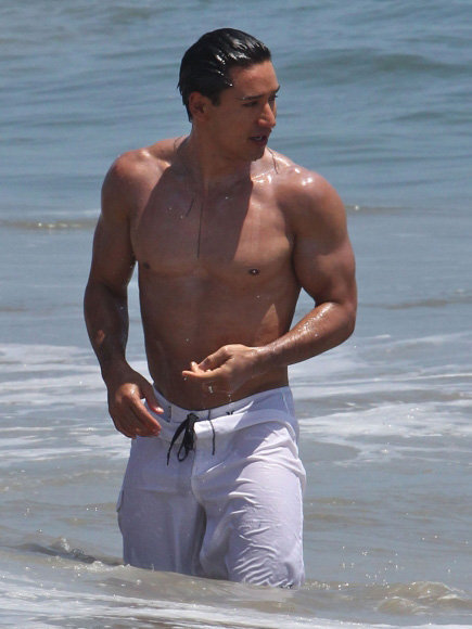 Naked mario lopez bulge entertaining question