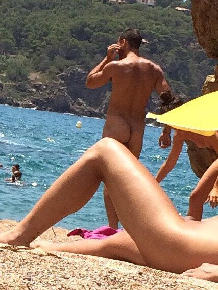 nudist straight man