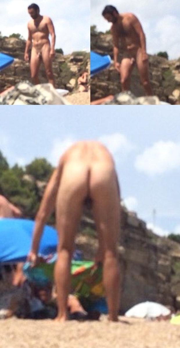 candid naked guy beach nudist