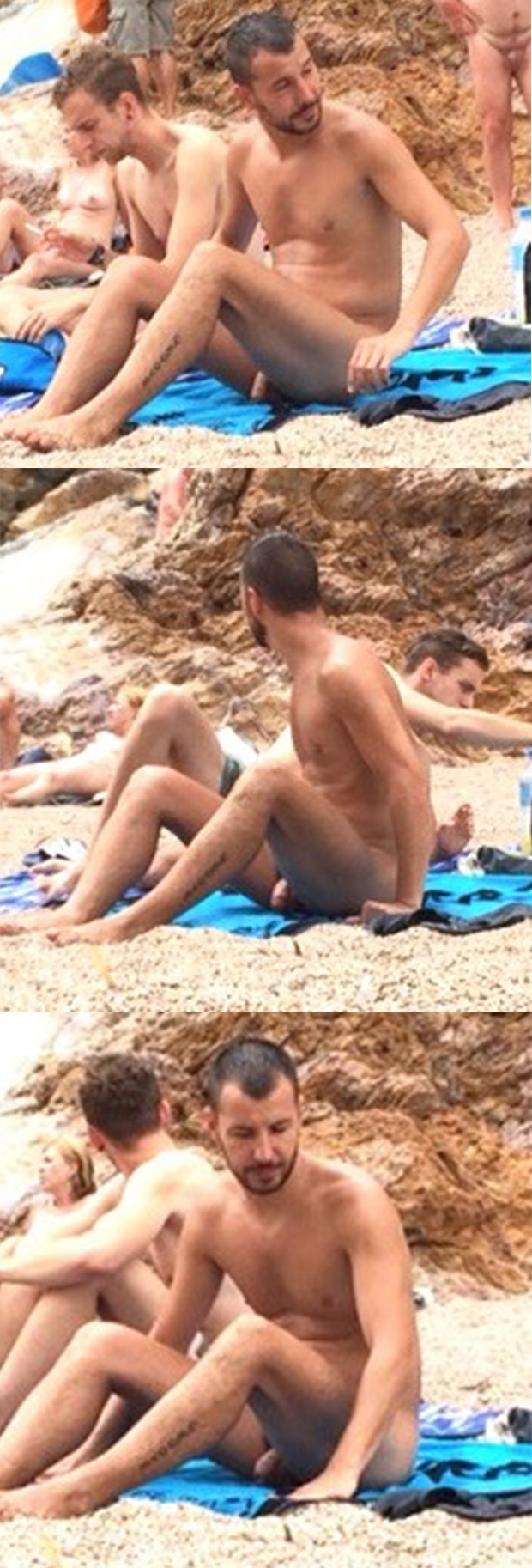 nudist beach guy
