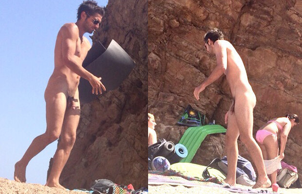 nudist guy beach