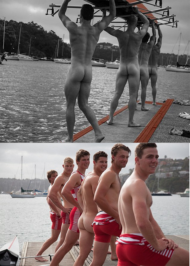 rowers posing naked 375
