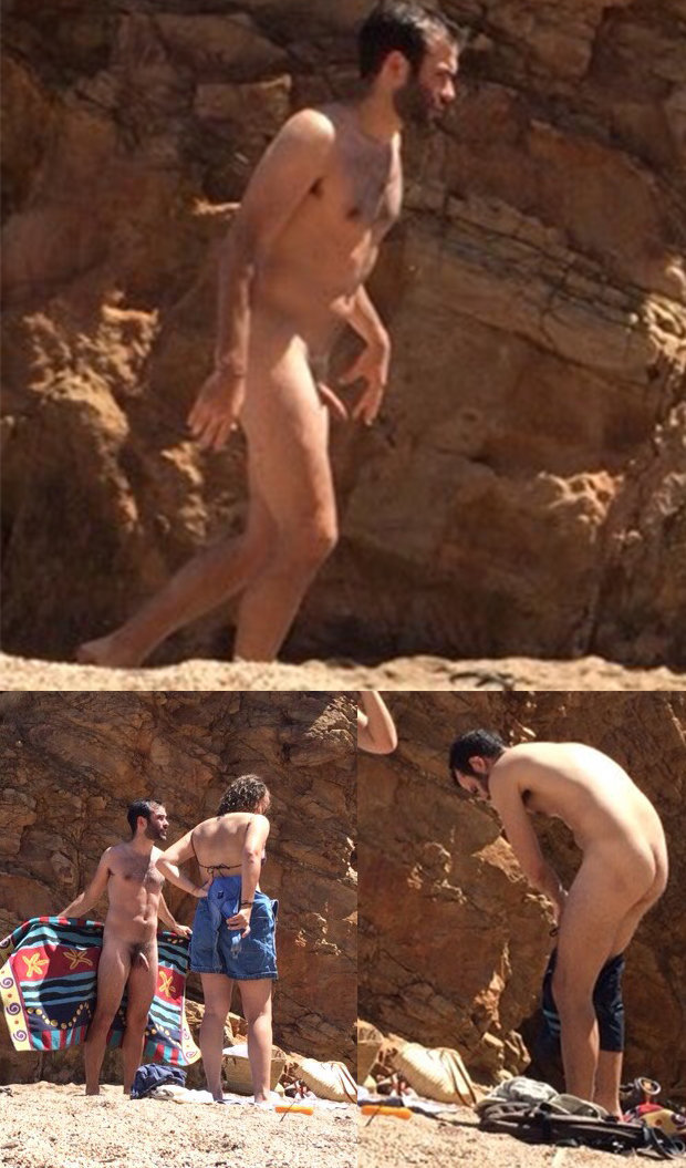straigh nudist beach guy