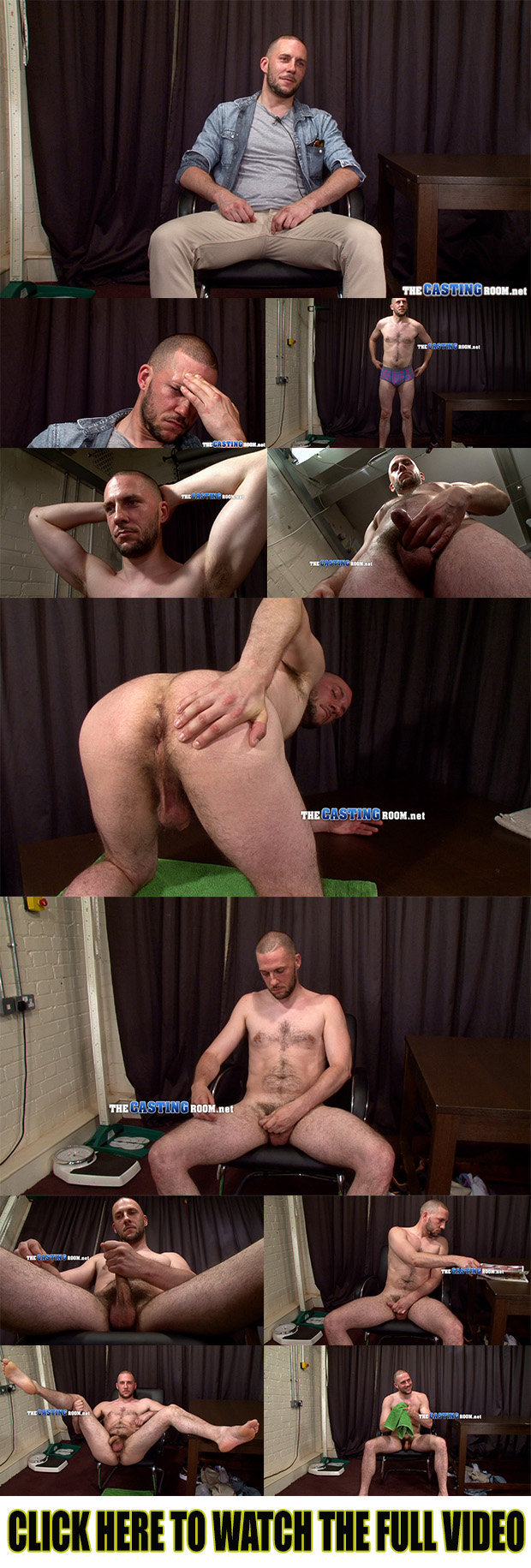 straight guy naked casting room