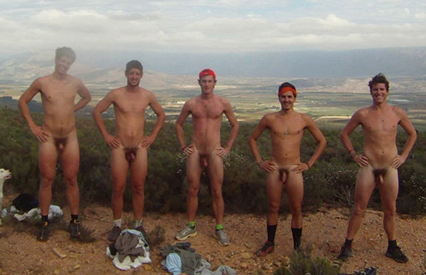 Naked Guys Outdoors