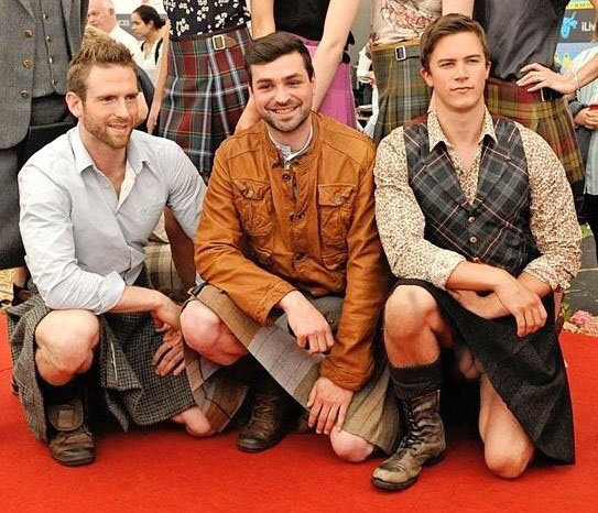 under kilt dick slip