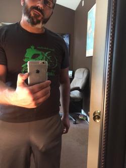 guy selfie no underwear