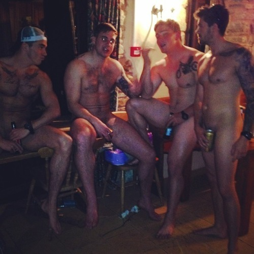 naked straight drunk buddies