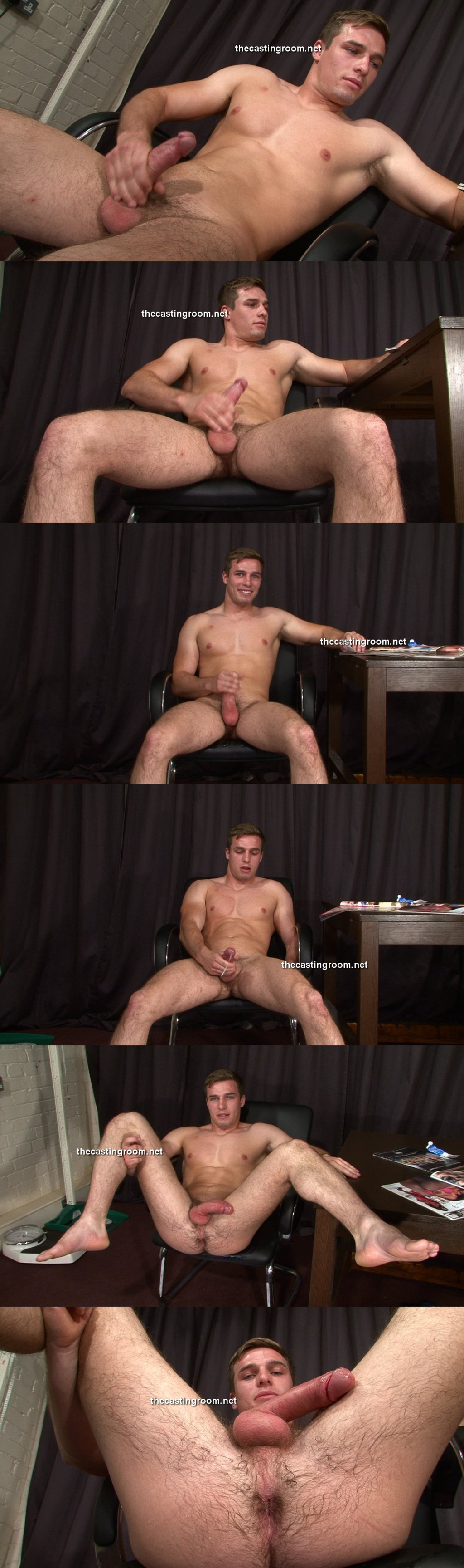 naked straight guy porn casting room