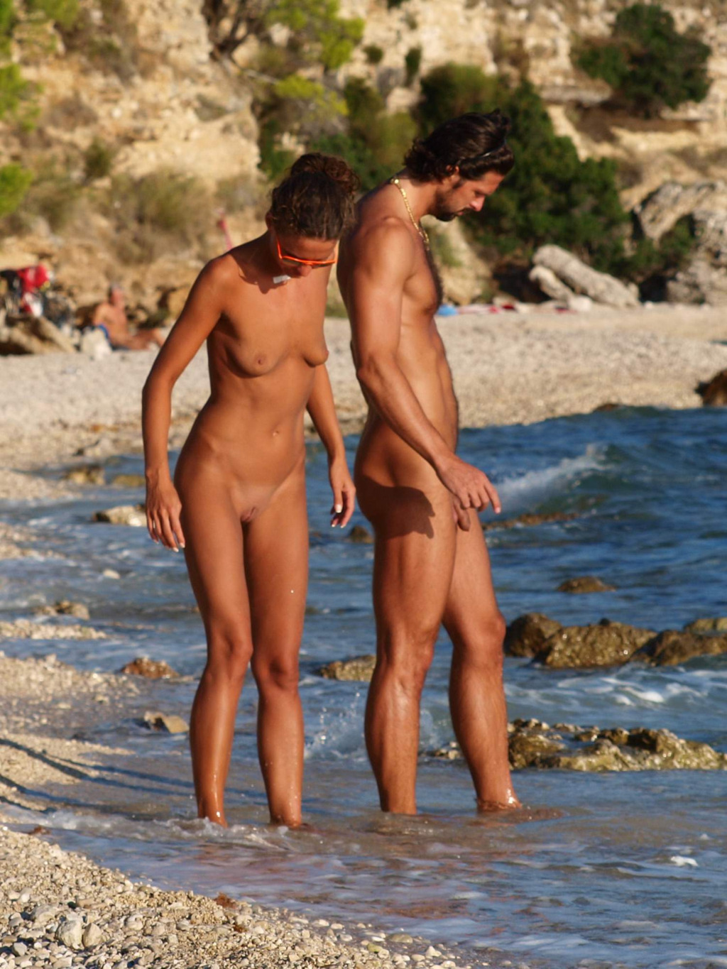 sexy nudist straight man beach