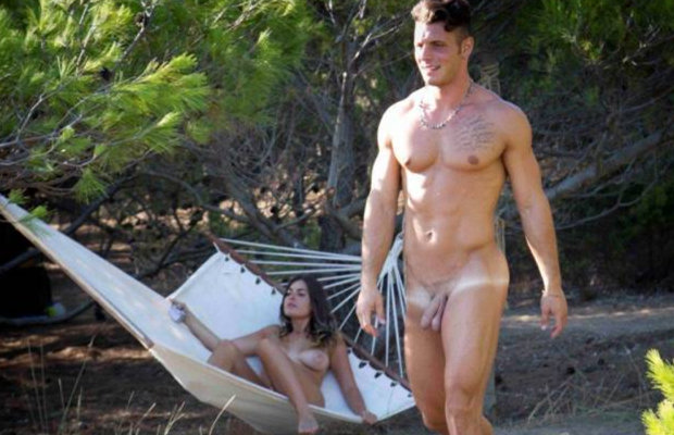 adam eve italian naked reality tv