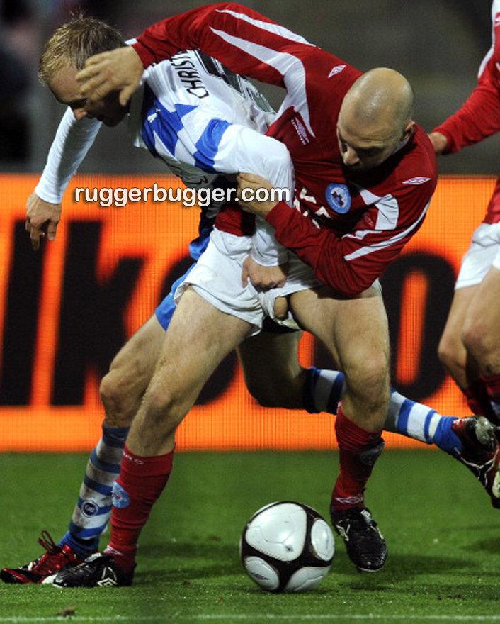 footballer christian holst cock pop out