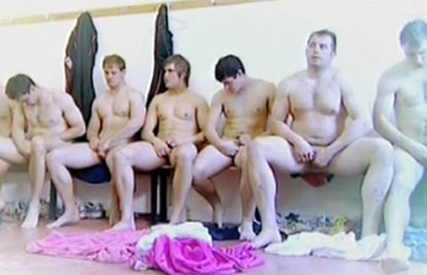 rugby team testicle inspection tv show